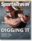 SportsTravel magazine August 2010 cover
