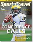 SportsTravel magazine December 2010 cover