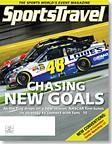 SportsTravel magazine February 2011 cover