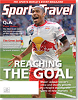 SportsTravel magazine March 2011 cover