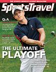 SportsTravel magazine August 2011 cover