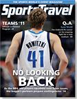 SportsTravel magazine October/November 2011 cover
