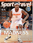 SportsTravel magazine March 2012 cover