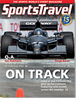 SportsTravel magazine April 2012 cover