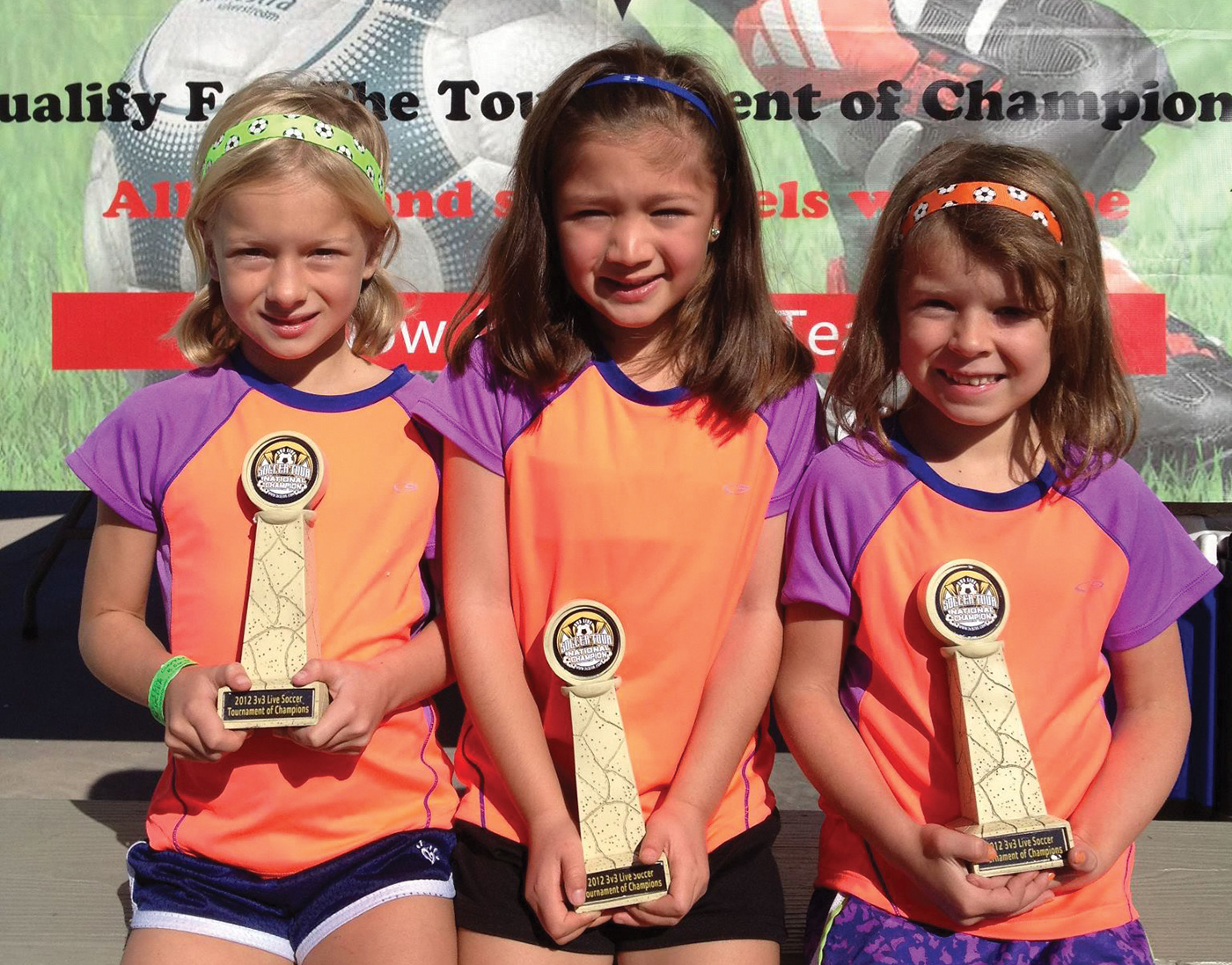 Soccer organizations such as the 3v3 Live Soccer Tour have seen considerable growth in recent years by staging tournaments that feature three players per side, allowing for more scoring by participants. Photo courtesy of 3v3 Live