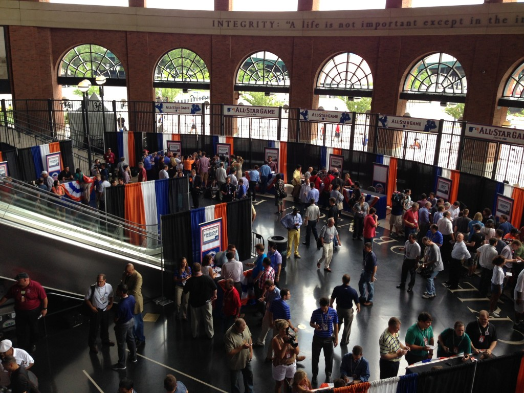 Citi Field rotunda.