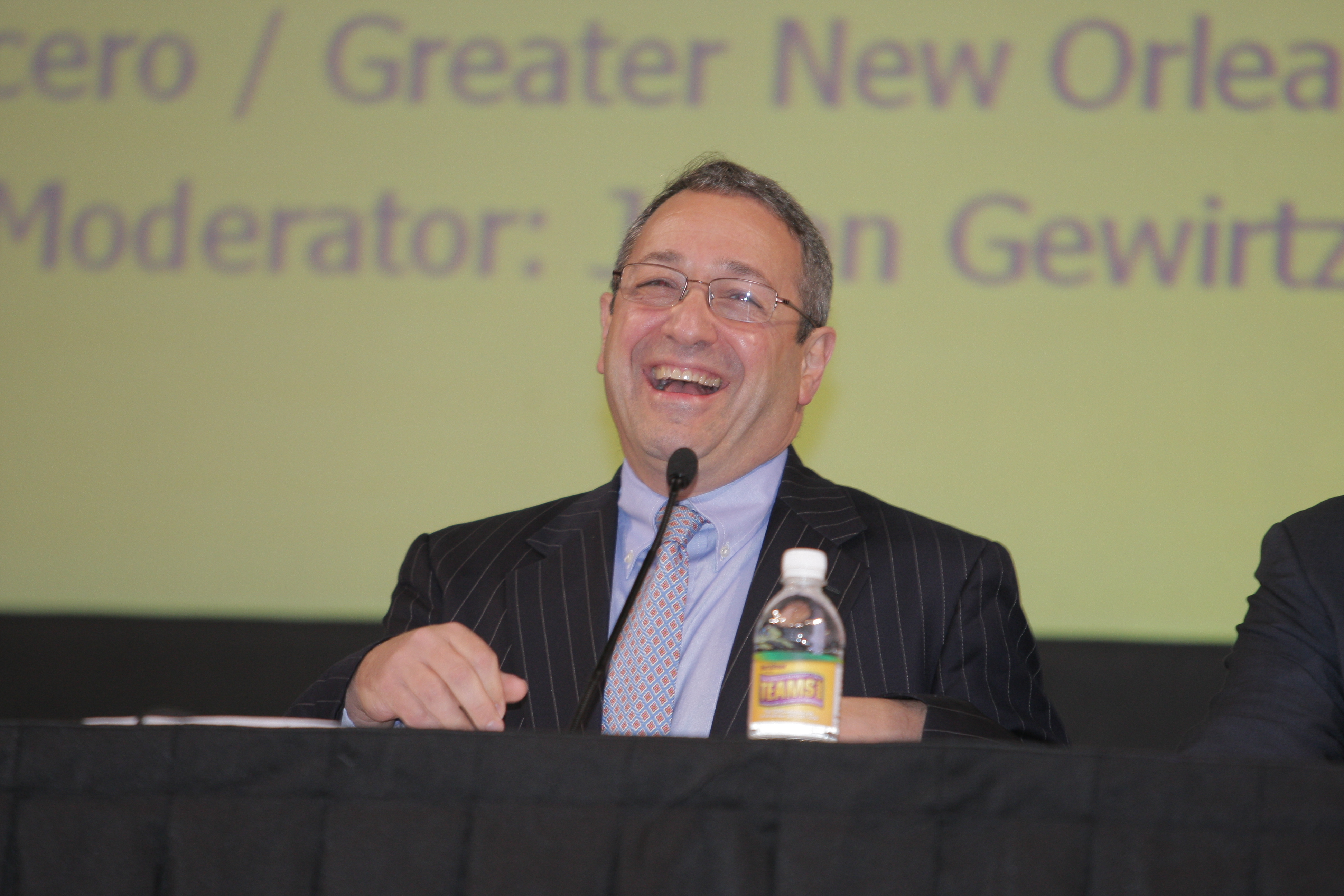 The NFL's Frank Supovitz at the TEAMS Conference & Expo in New Orleans