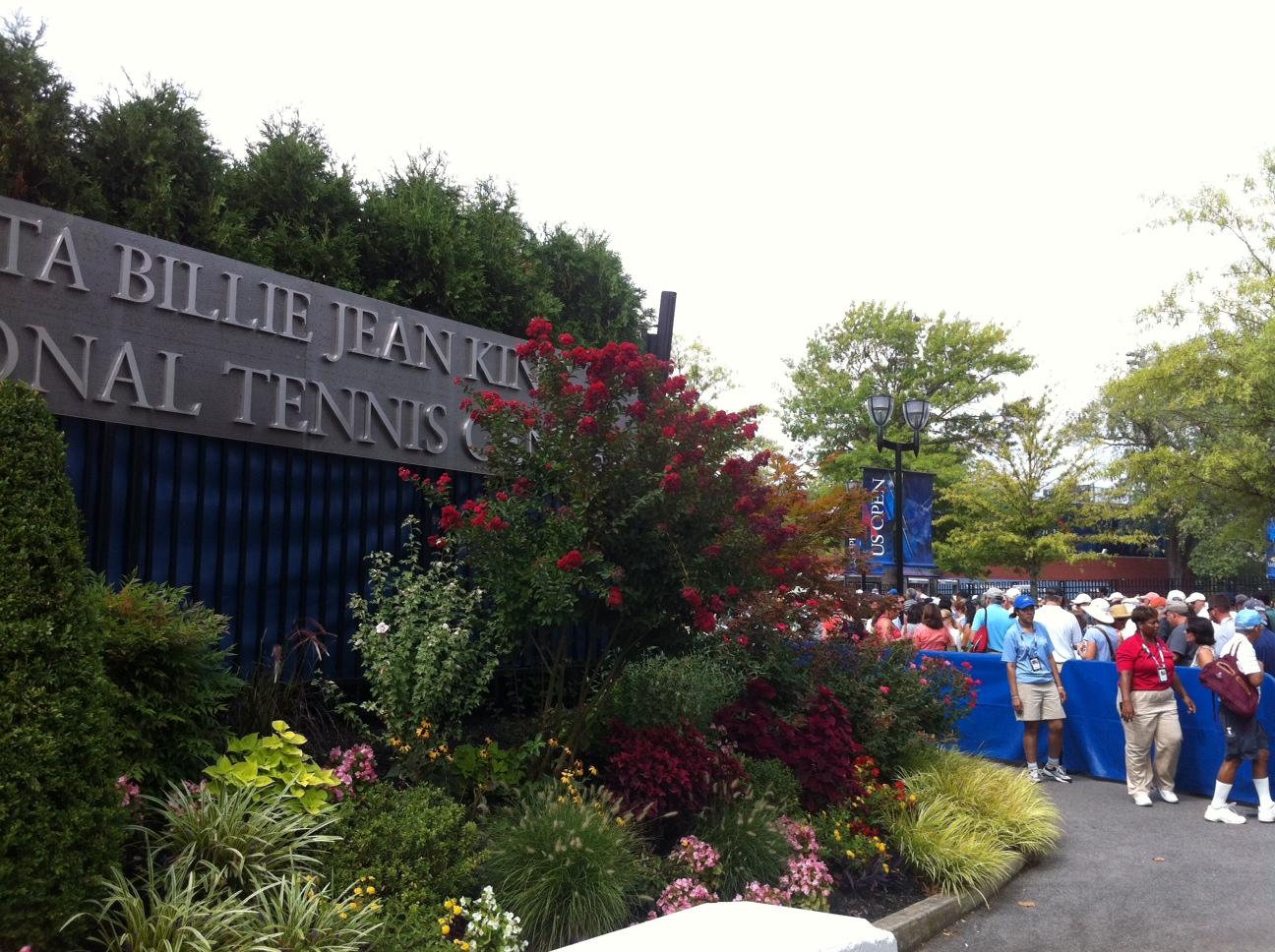 USTA Billie Jean King National Tennis Center East Entrance