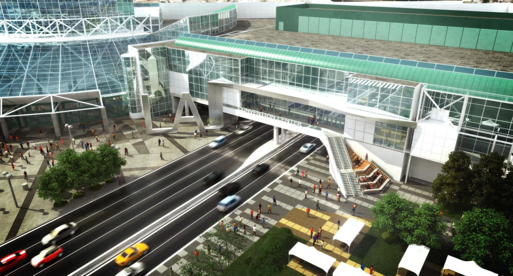 Los Angles Convention Center Rendering
