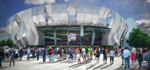 Rendering of New Arena in Sacramento