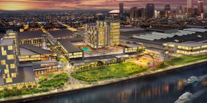 Rendering of the New Orleans Ernest N. Morial Convention Center