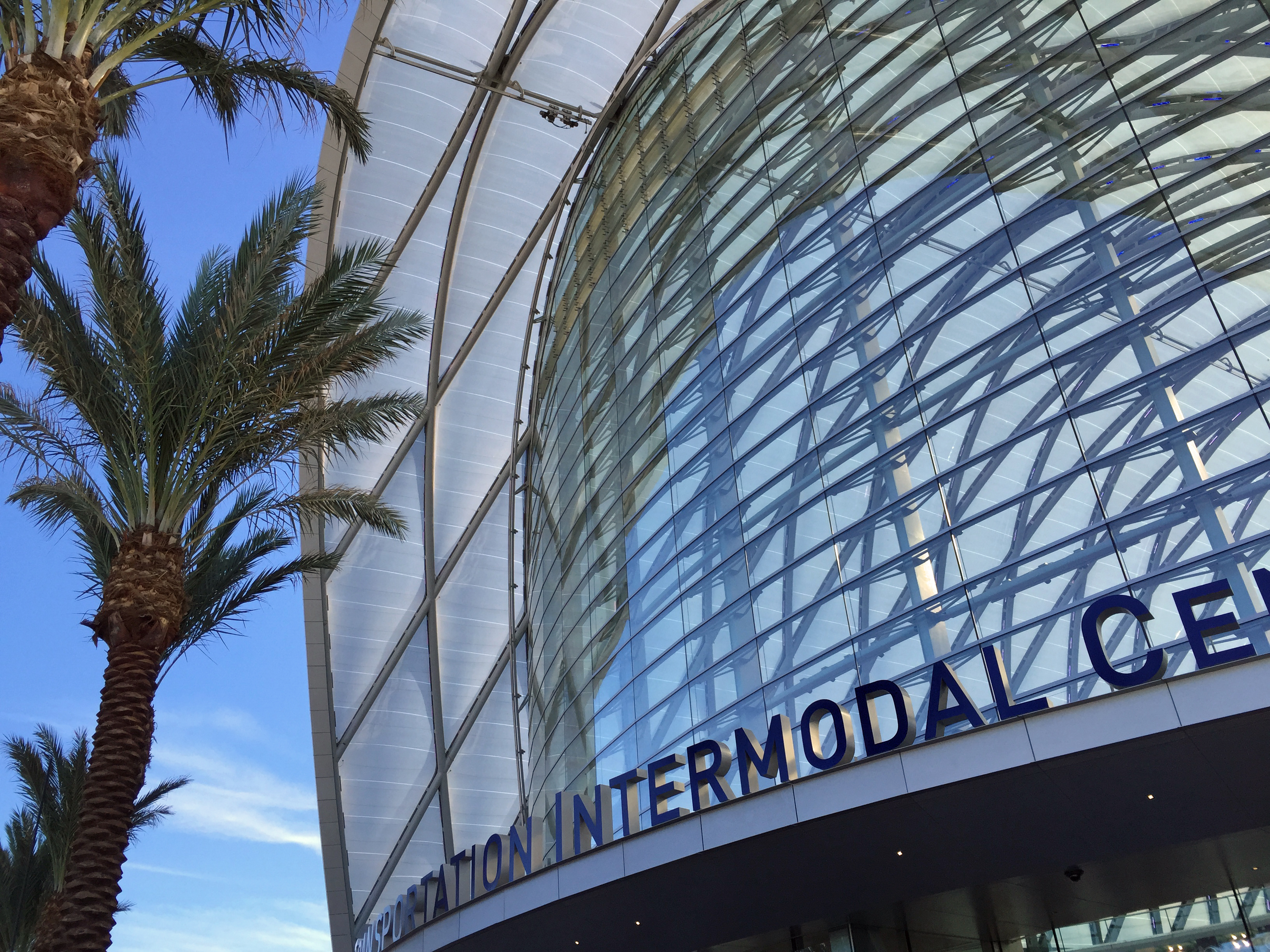 The Anaheim Regional Transportation Intermodal Center officially opened on December 8.