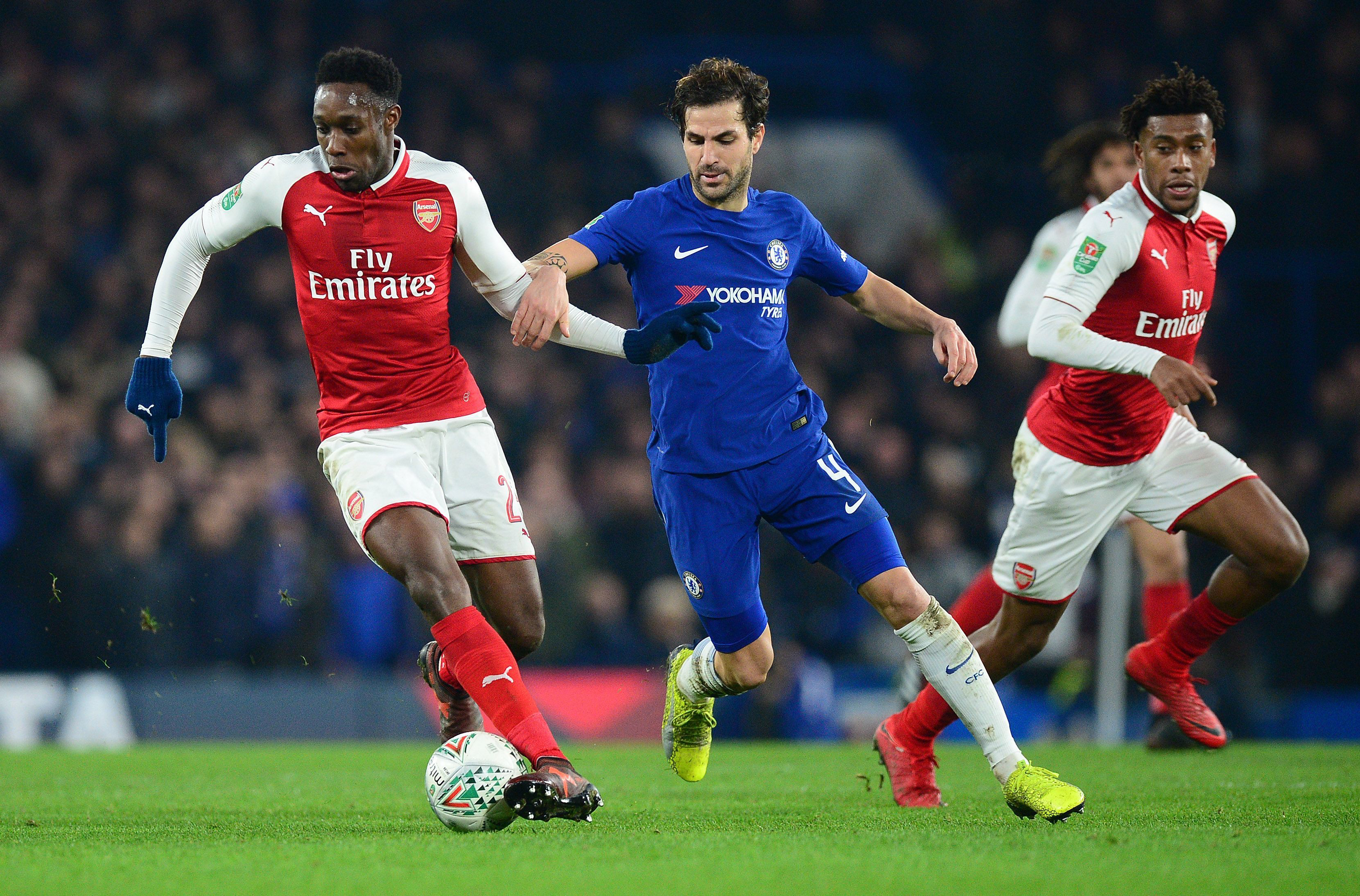 Chelsea v Arsenal, UK – 10 Jan 2018