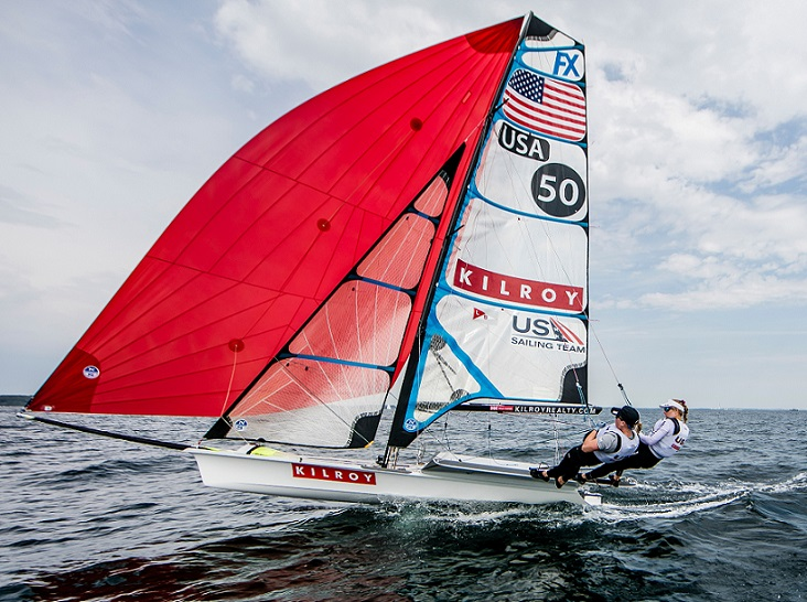 US SAILING Team shooting before Aarhus World Champiochips. @Sailing Energy / US Sailing31 July, 2018.