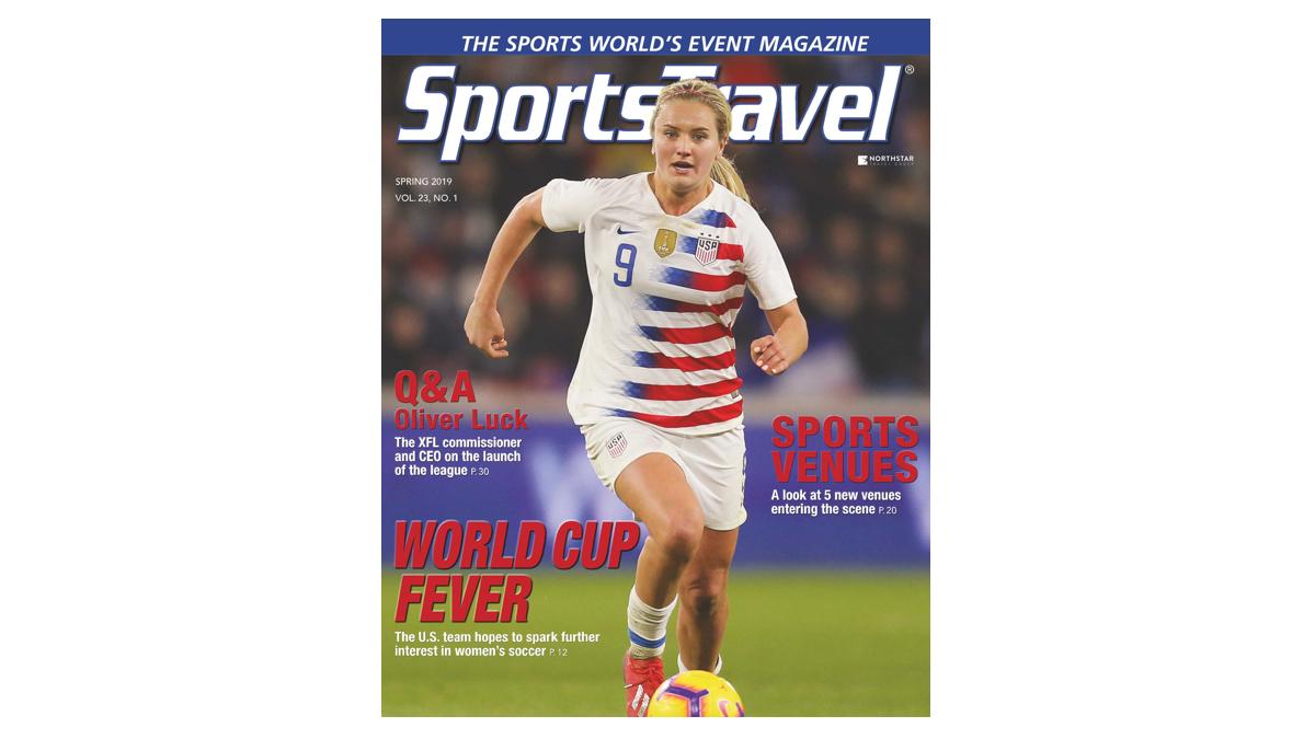 SportsTravel Spring 2019 cover