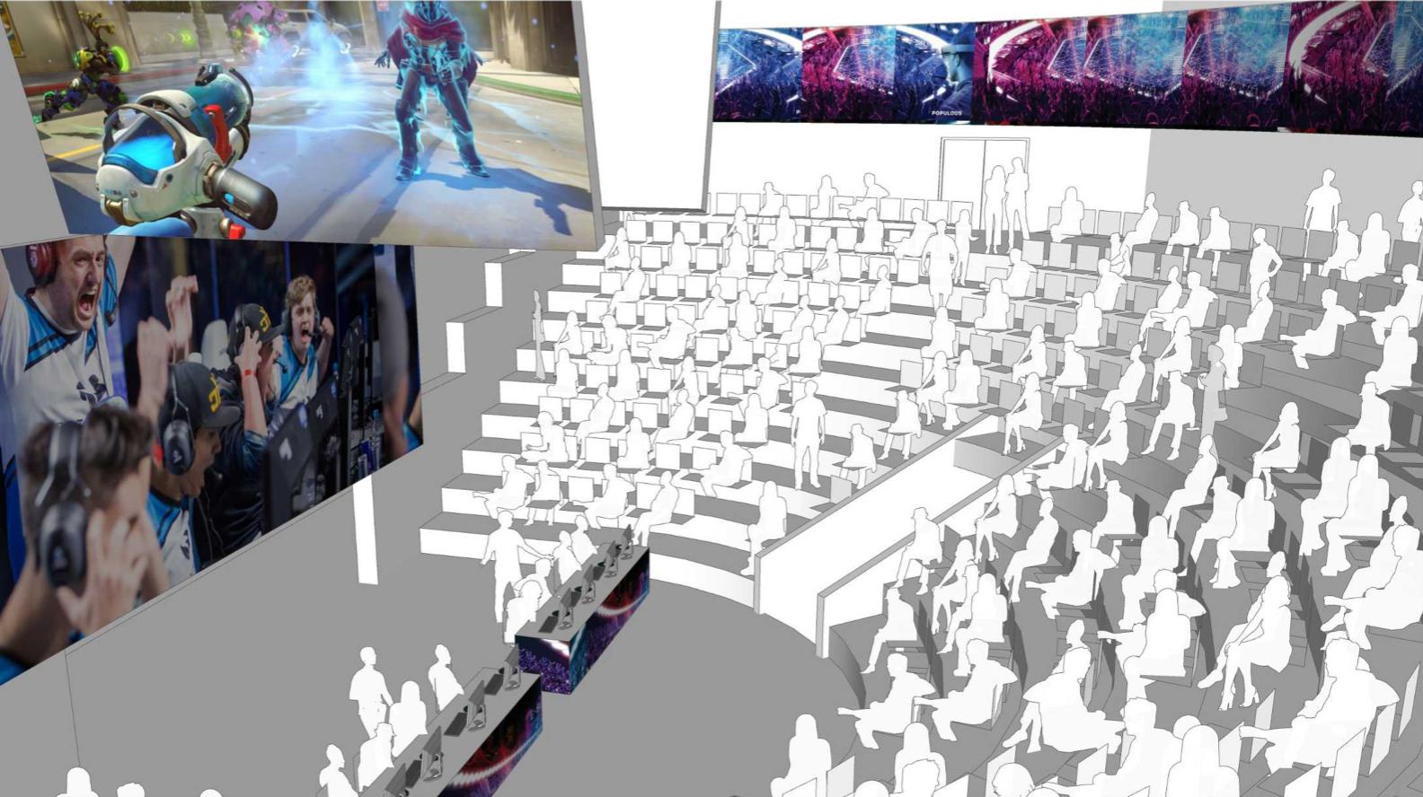 Bendix Arena rendering