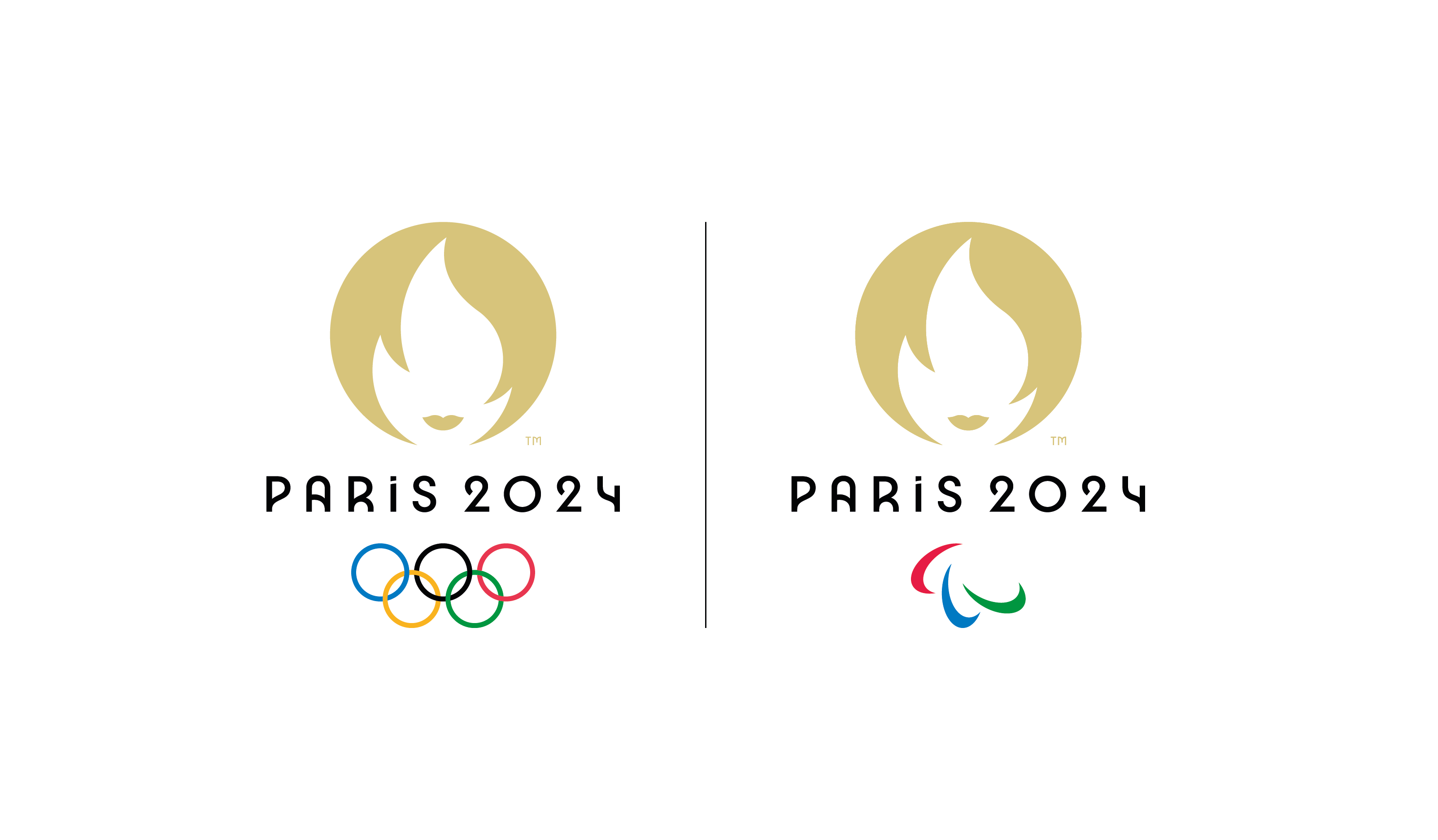 Paris 2024 – 19_10_18 – Emblème Double – Poly_Pod – CMJN