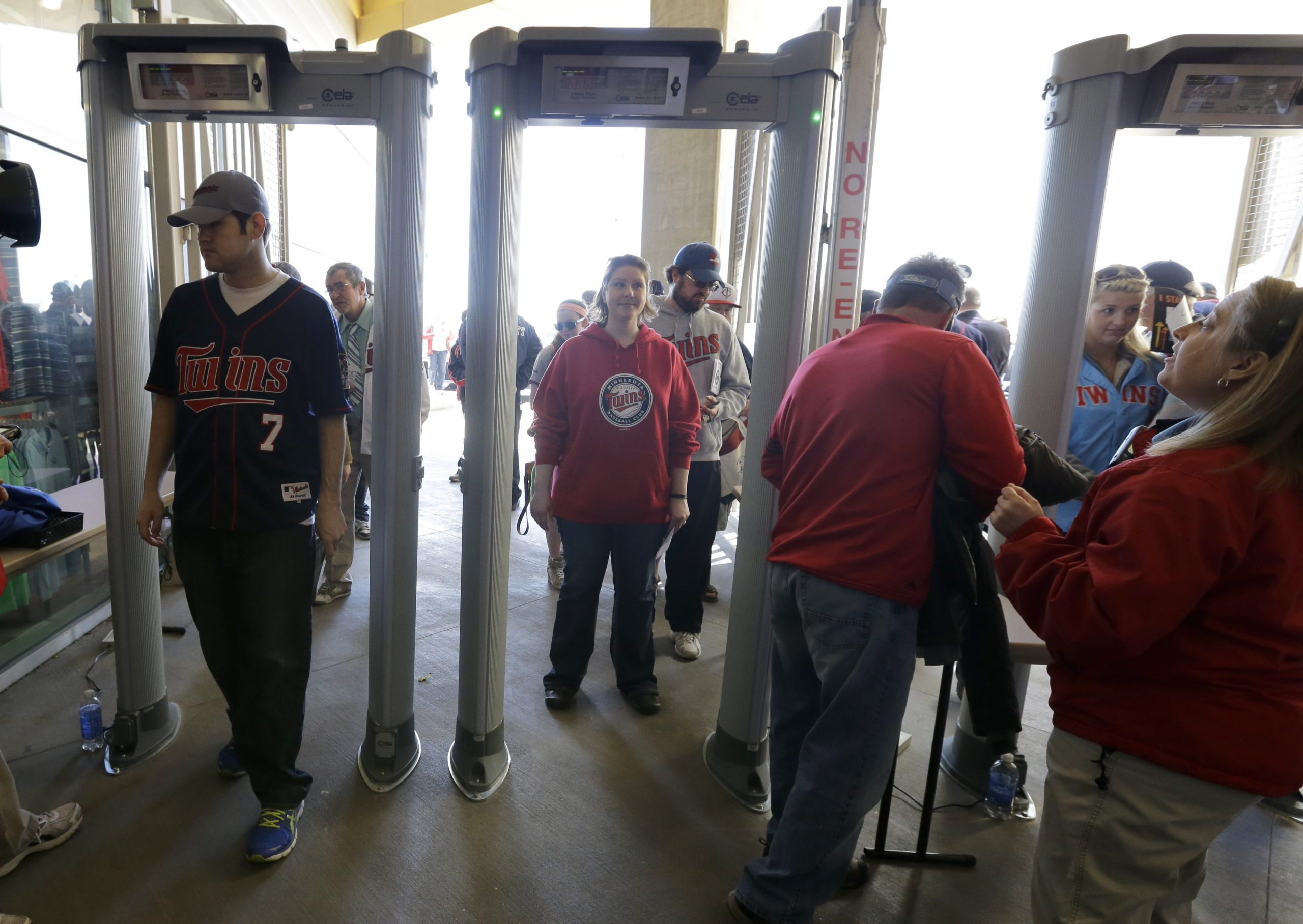 Twins Target Field Security