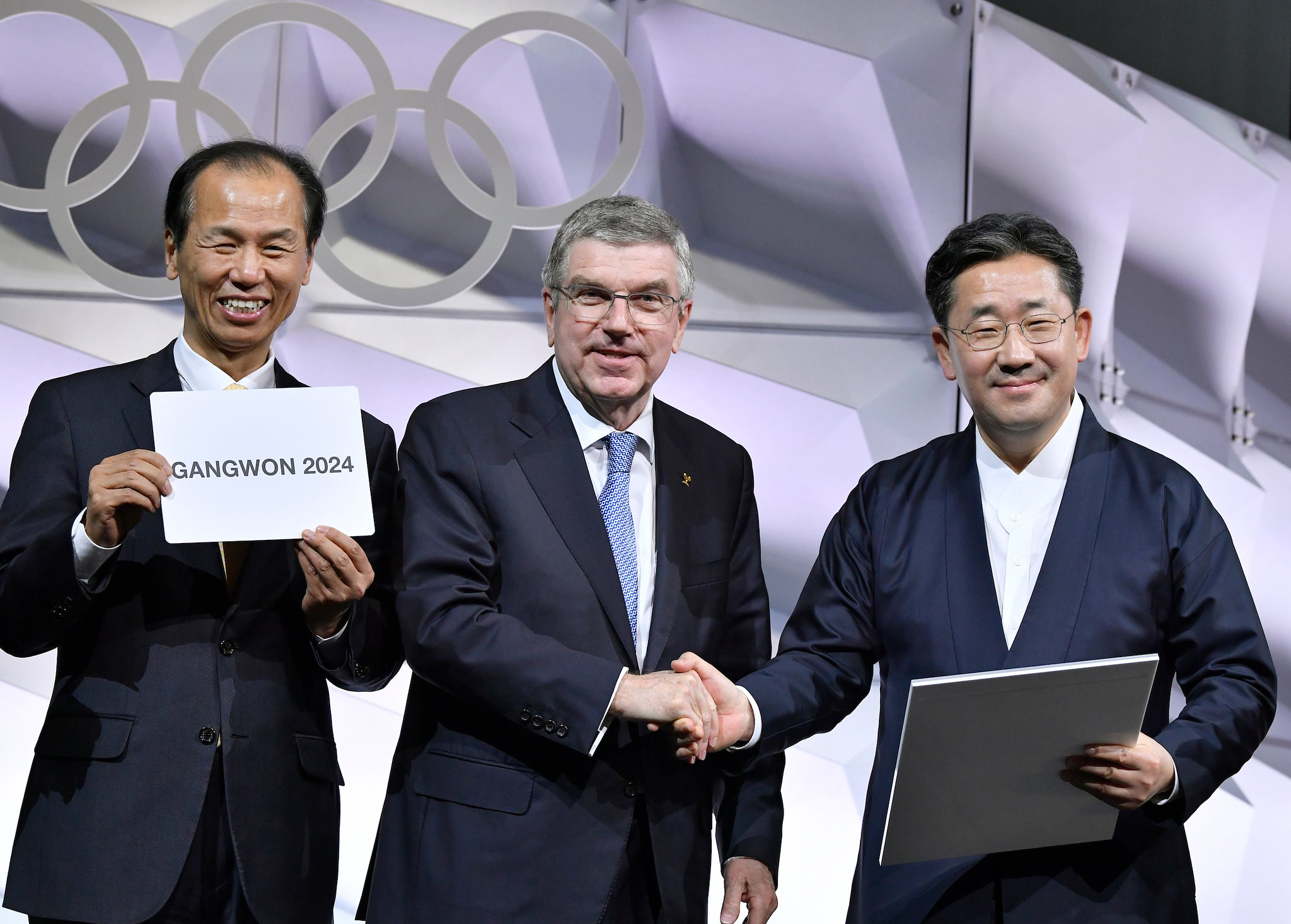 IOC President Thomas Bach during the 135th IOC Session