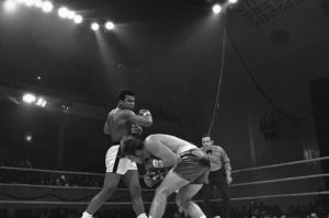 Muhammad Ali and Jerry Quarry       Boxing