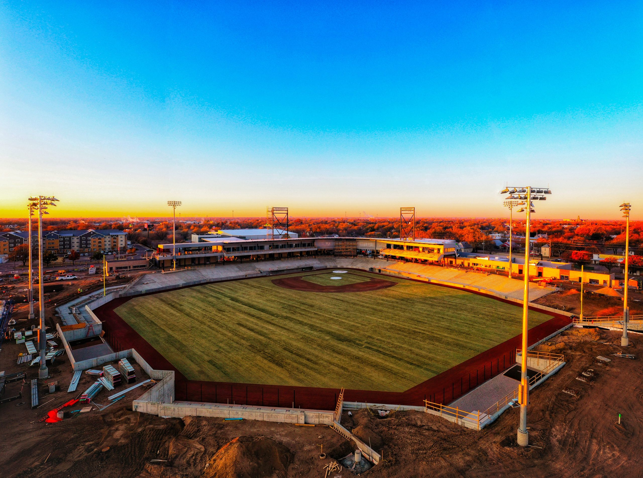 Wichita Baseball Stadium_ credit Drone-Tography LLC