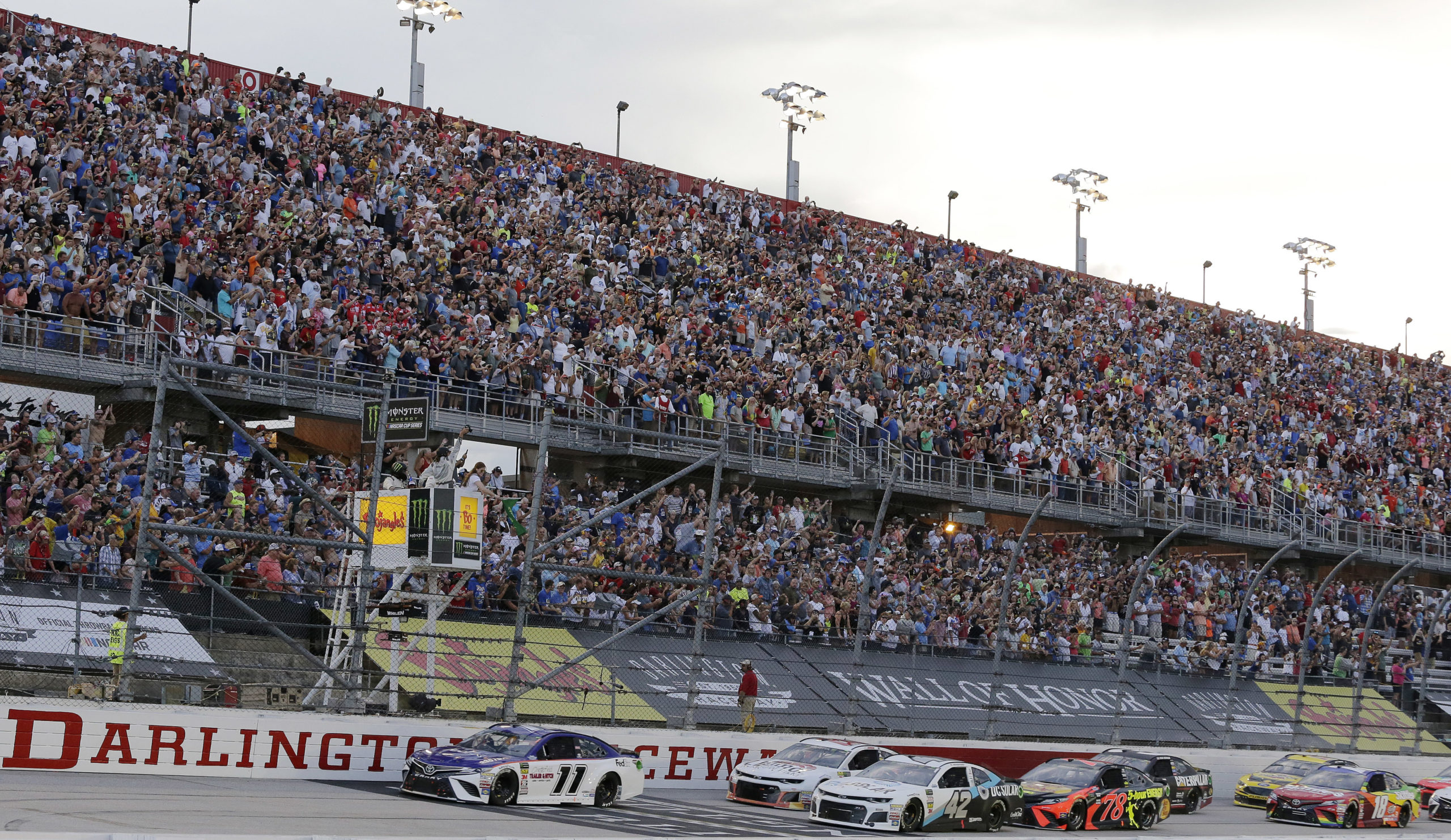 NASCAR Virus Racing Returns Auto Racing