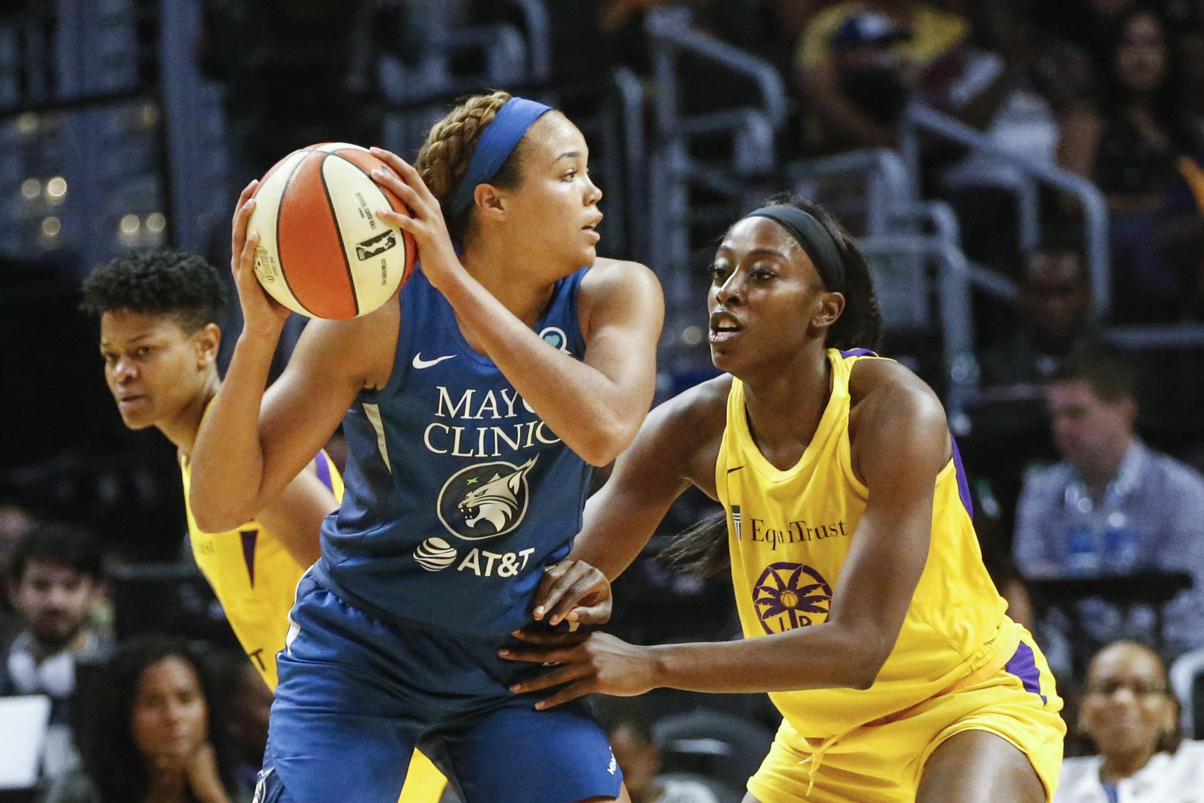 Lynx Sparks Basketball