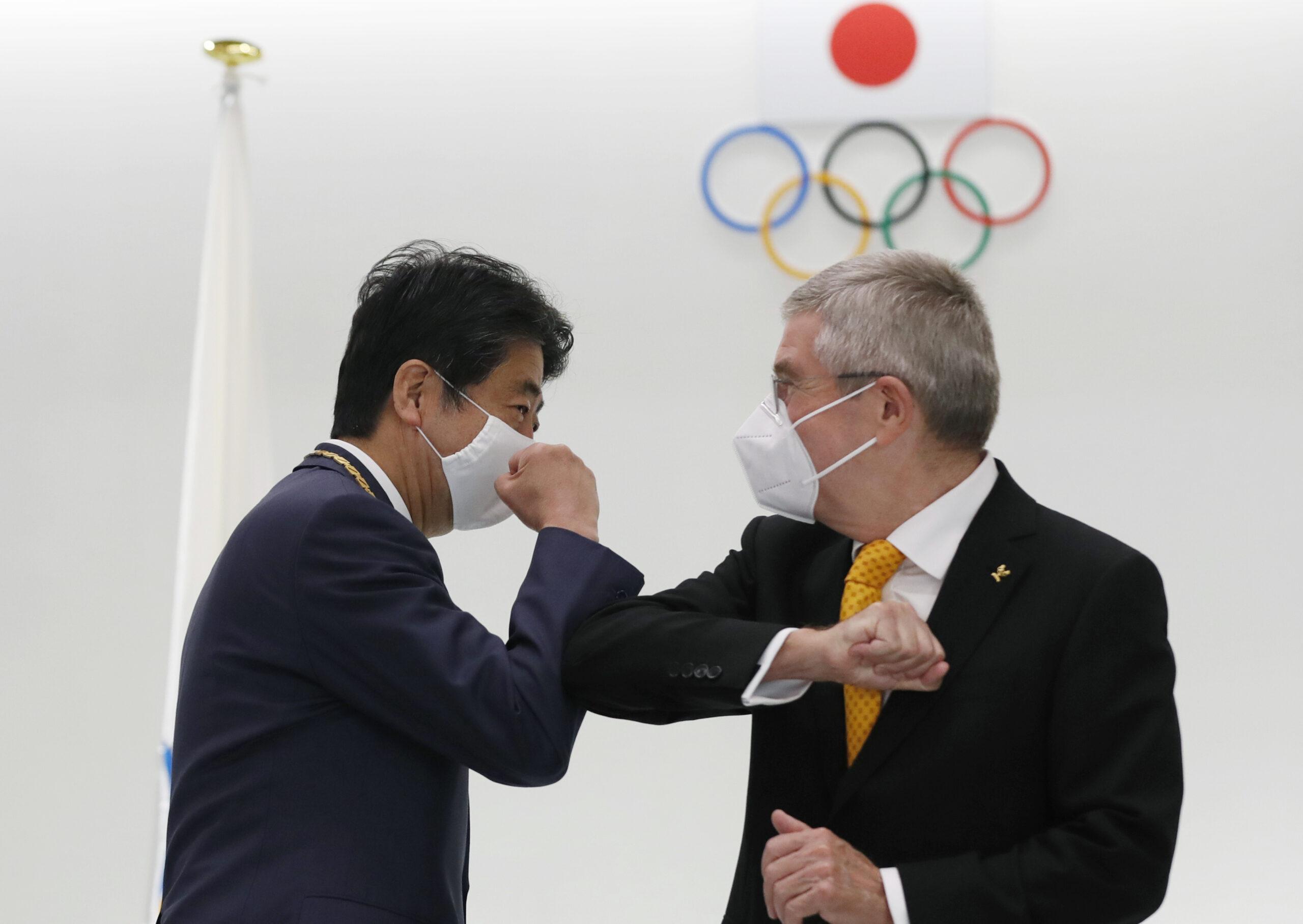APTOPIX Japan Olympics IOC