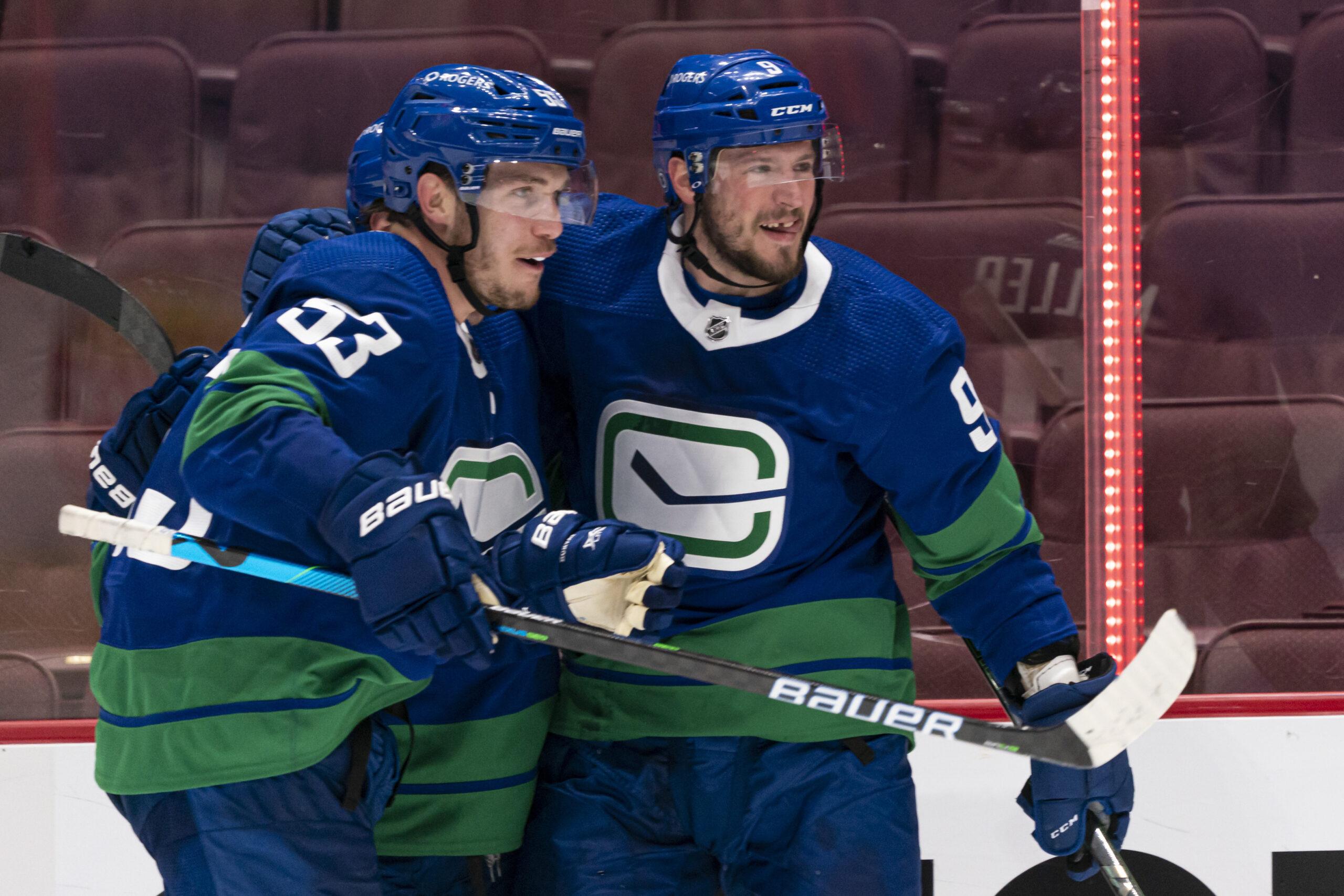 Maple Leafs Canucks Hockey