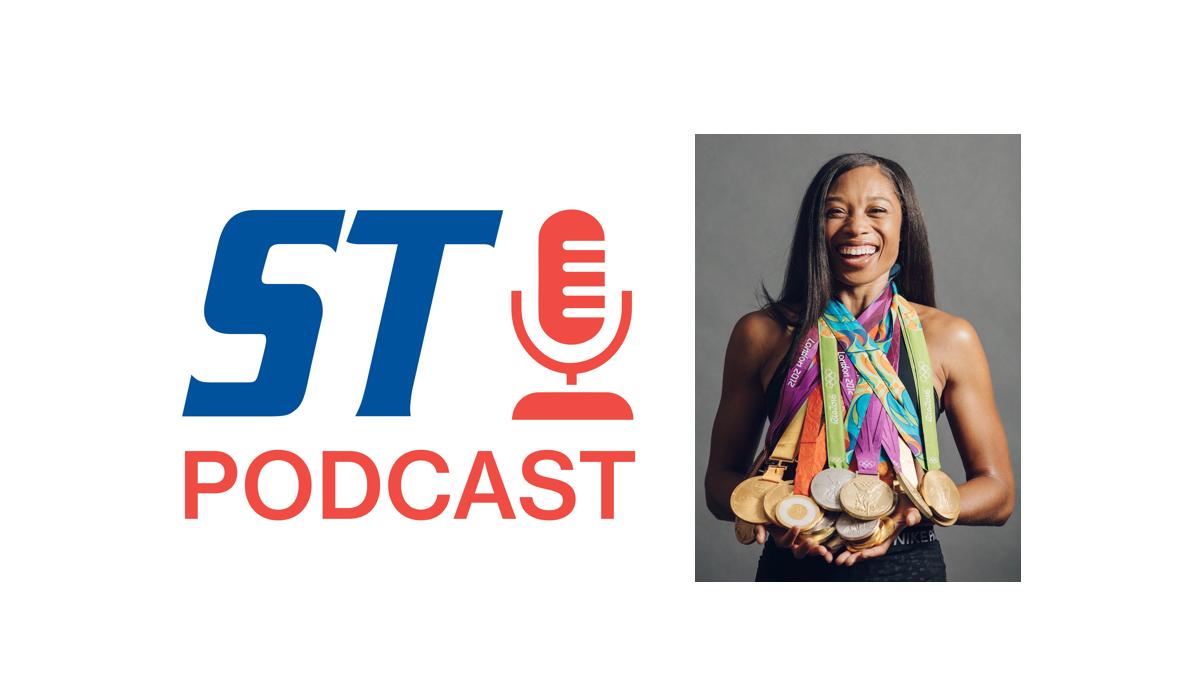 SportsTravel Podcast Allyson Felix