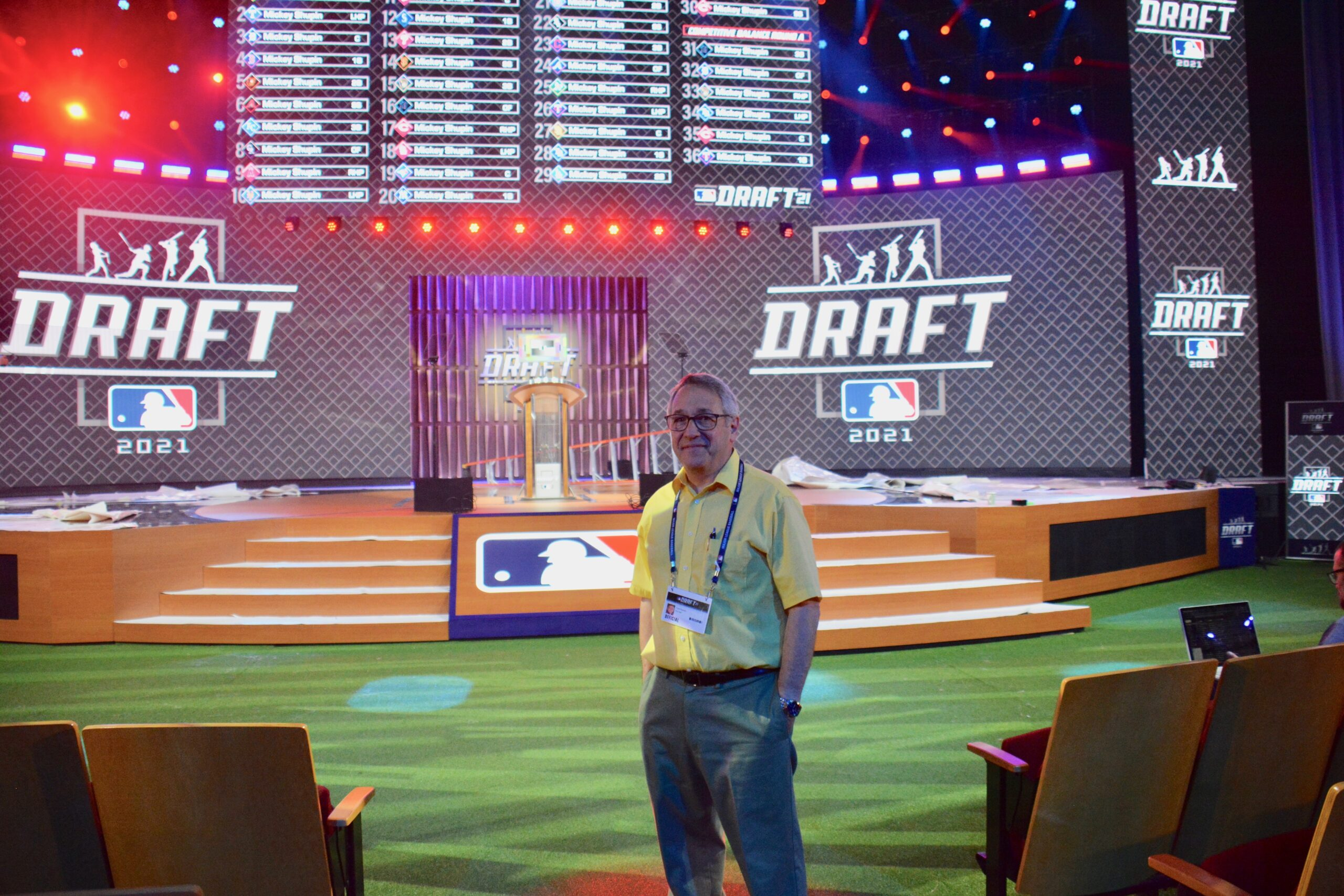 Frank Supovitz MLB