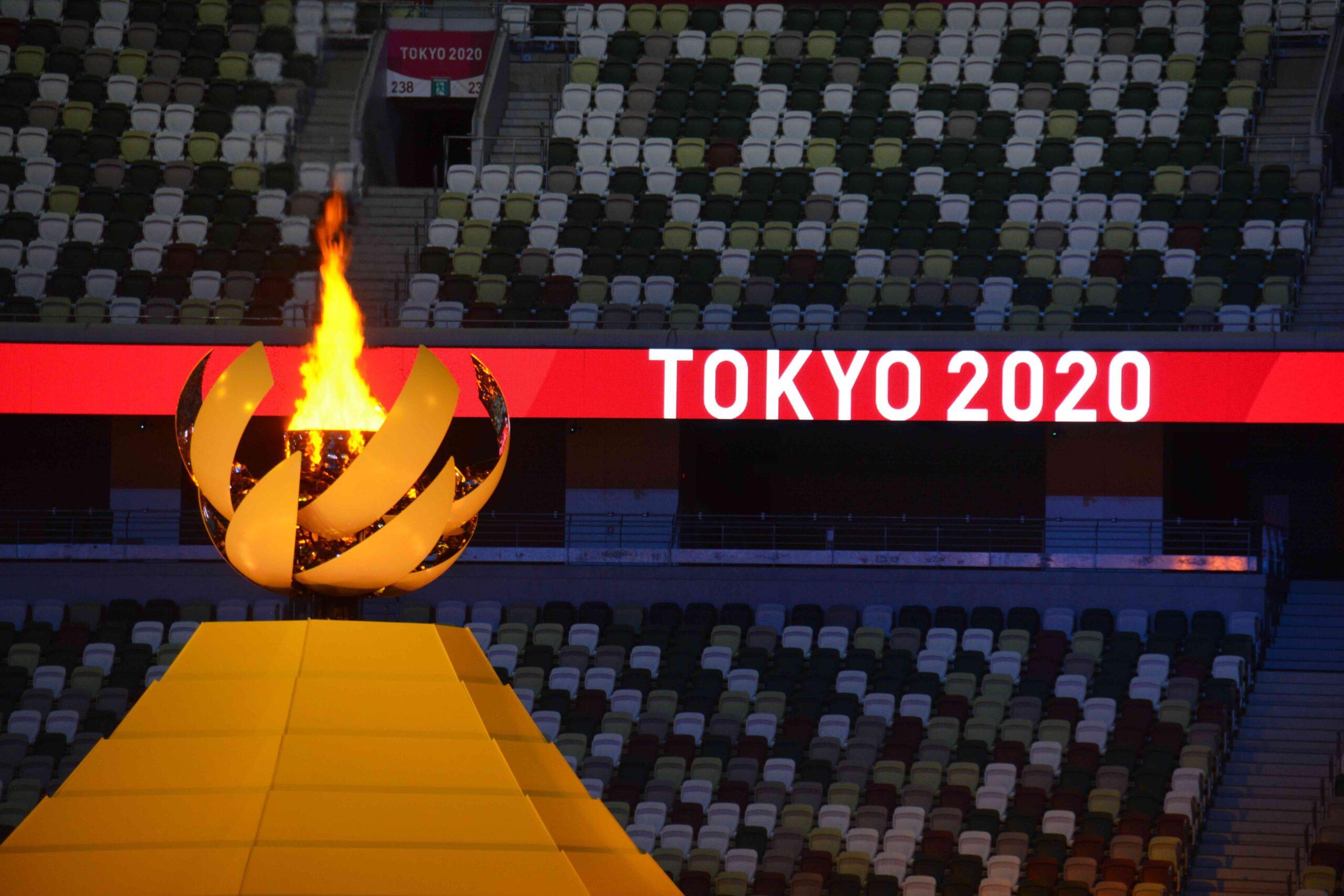 2021 Olympics Cauldron