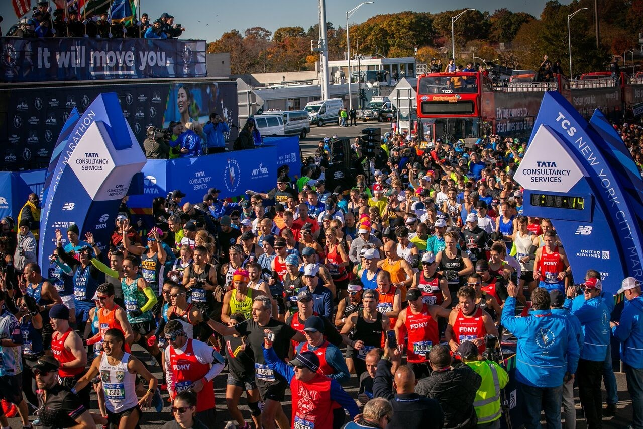 Tata Consultancy Services New York City Marathon Renewal