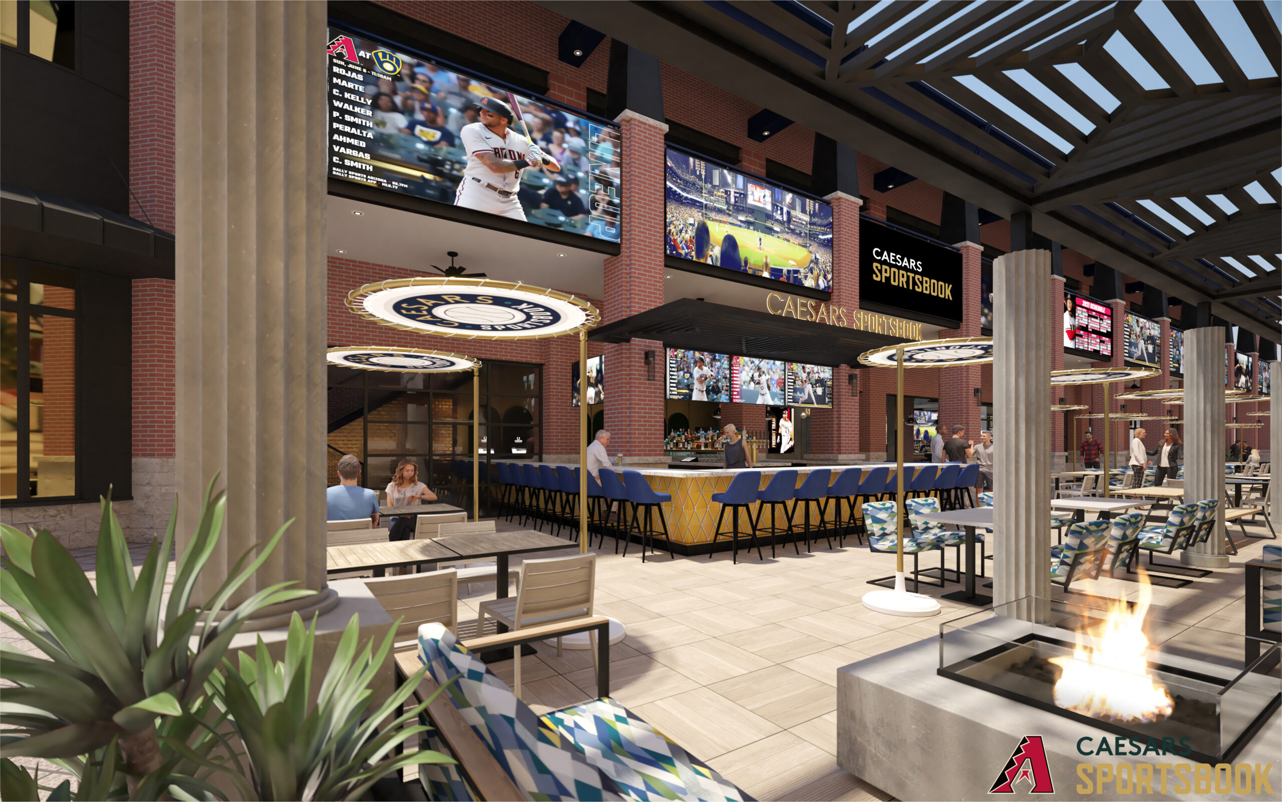 Chase Field Restaurant Sports Book.indd