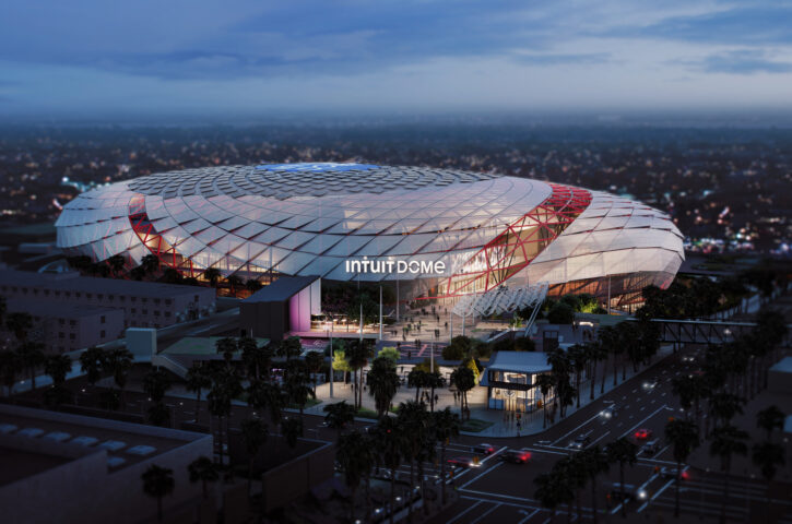 Clippers Unveil Plans for Intuit Dome